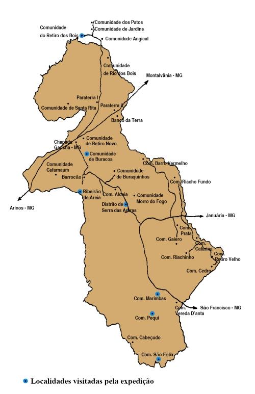 Mapa chapada A